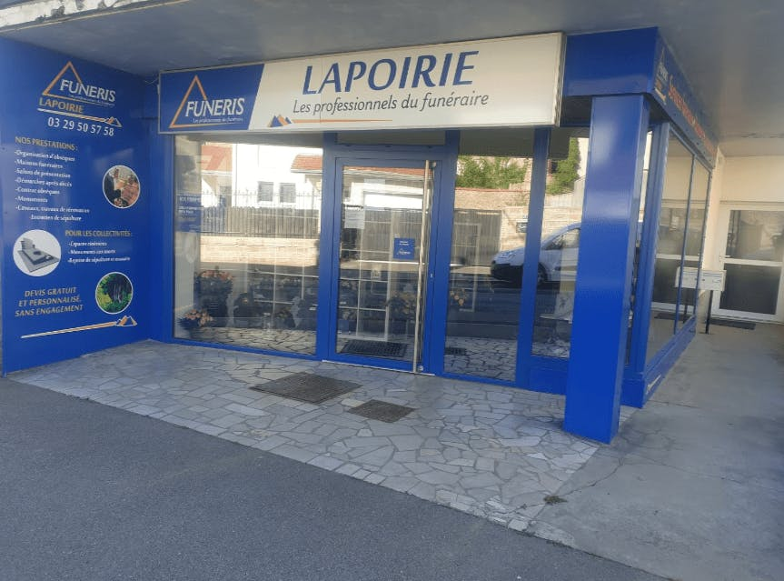 Photographie Pompes Funèbres Lapoirie de Bruyères
