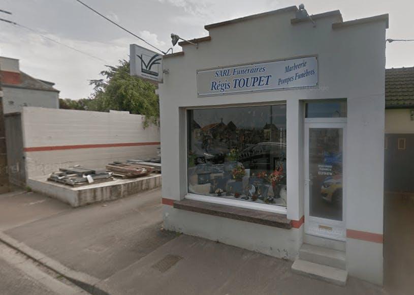 Photographie de la Pompes Funèbres et Marbrerie Toupet-Sotty de la ville de Desvres