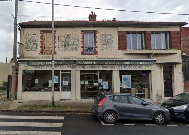 Photographies des Pompes Funèbres Marbrerie Miquel Tournier à Aulnay-sous-Bois