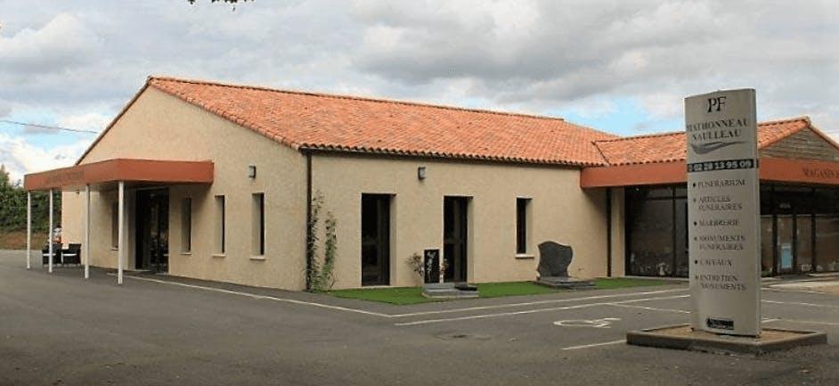 Photographie de la Pompes Funèbres Mathonneau Naulleau de la ville de La Caillère-Saint-Hilaire