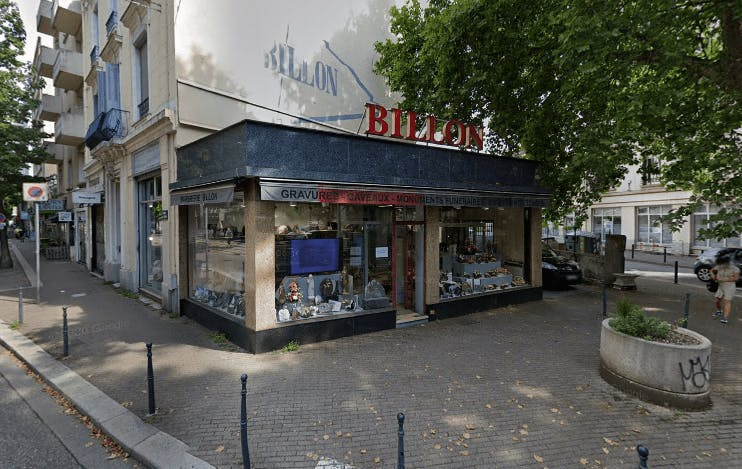 Photographie de la Marbrerie Billon à Grenoble