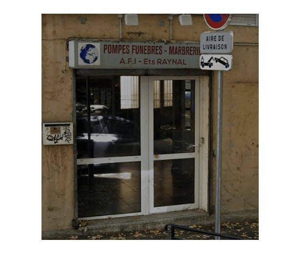 Photographie de l'Agence Funéraire Internationale à Aix-en-Provence