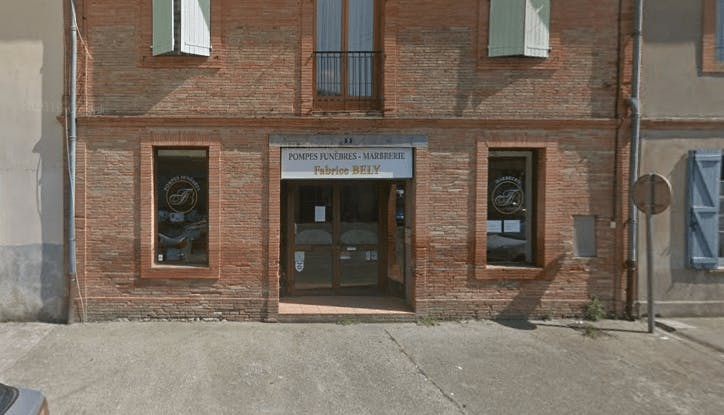 Photographie de la Pompes Funèbres et Marbrerie Fabrice Bely à Beaumont-de-Lomagne