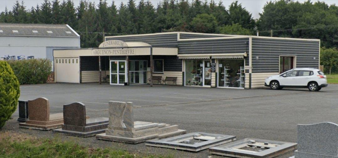 Photographie de la Pompes Funèbres Renault-Onfray à Plestan
