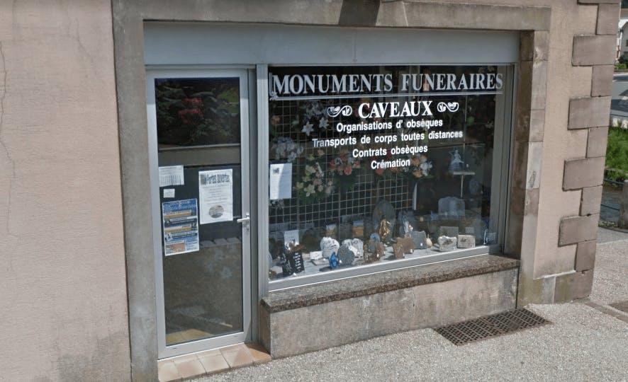 Photographie Pompes Funèbres Marbrerie Henry  du Val-d'Ajol