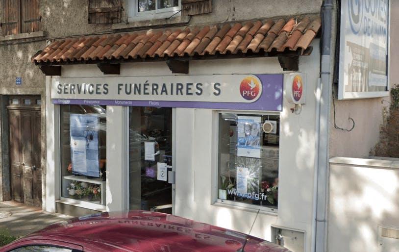 Photographie de la Pompes Funèbres Générales à Craponne