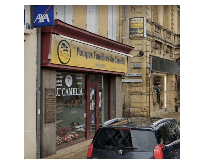 Photographie de la Pompes Funèbres et Marbrerie Au Camélia à Bergerac