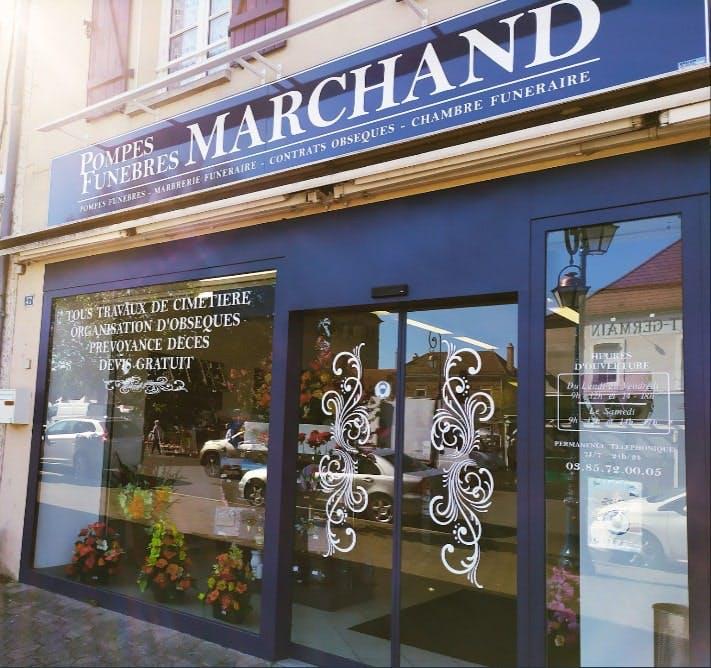 Photographie de Pompes Funèbres Marbrerie Marchand de Saint-Germain-du-Bois