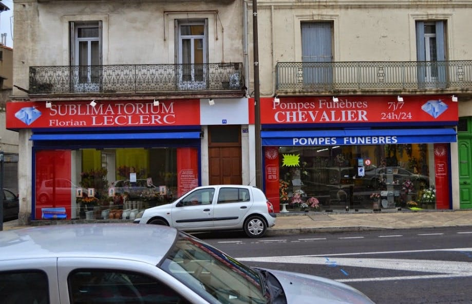 Photographie des Pompes funèbres Florian Leclerc à Béziers