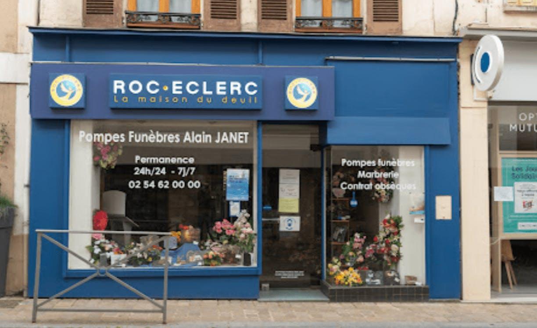 Photographie de la Pompes Funèbres Roc-Eclerc de La Châtre