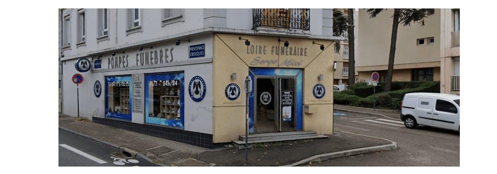 Photographie de la Pompes Funèbres LOIRE FUNÉRAIRE à Saint-Etienne