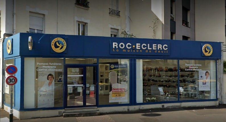 Photographie des Pompes Funèbres Roc-Eclerc à Nanterre