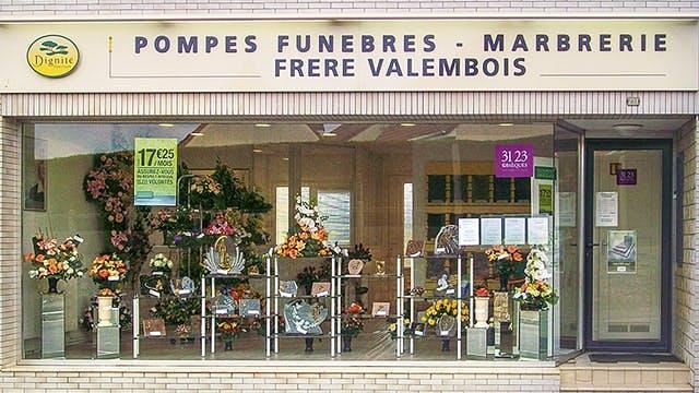 Photographies des Pompes Funèbres et Marbrerie Frère Valembois à Bruay-la-Buissière