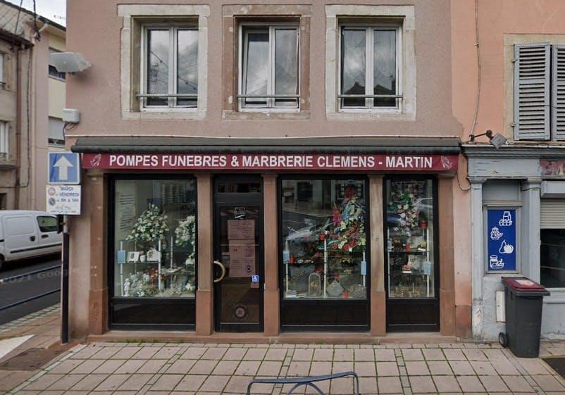 Photographies des Pompes Funèbres Clemens Martin à Sarrebourg