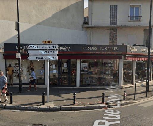 Photographie Rebillon Pompes funèbres et Marbrerie (17-19,rue LOuis Talamoni) Champigny-sur-Marne