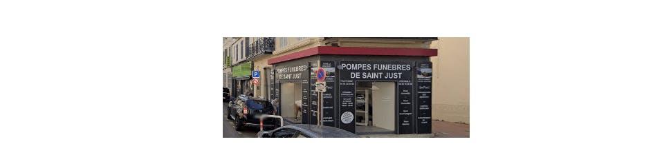 Photographie de la Pompes Funèbres Saint Just à Marseille