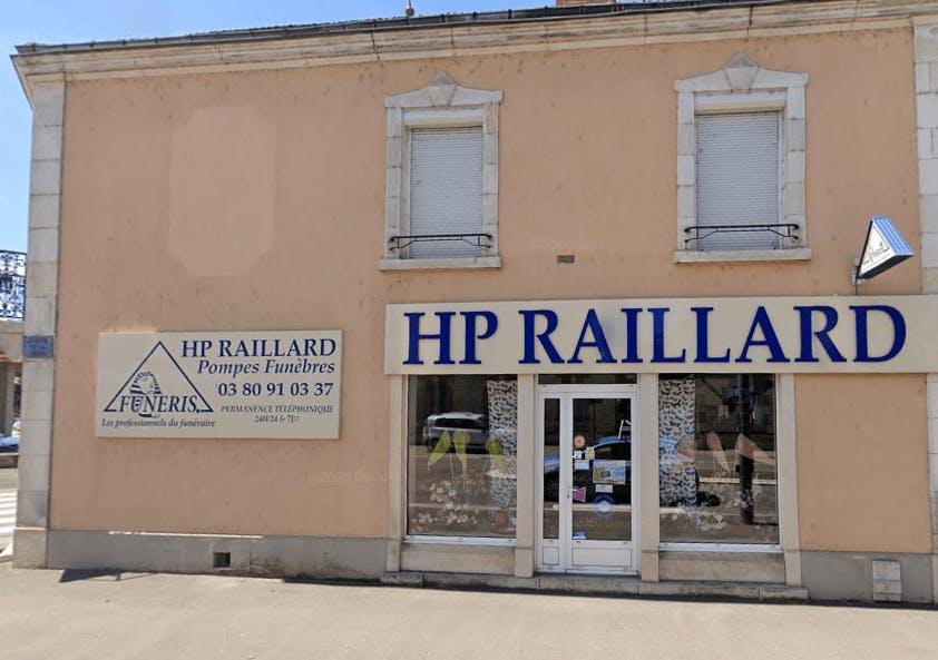 Photographie Pompes Funèbres RAILLARD H.P de Châtillon-sur-Seine