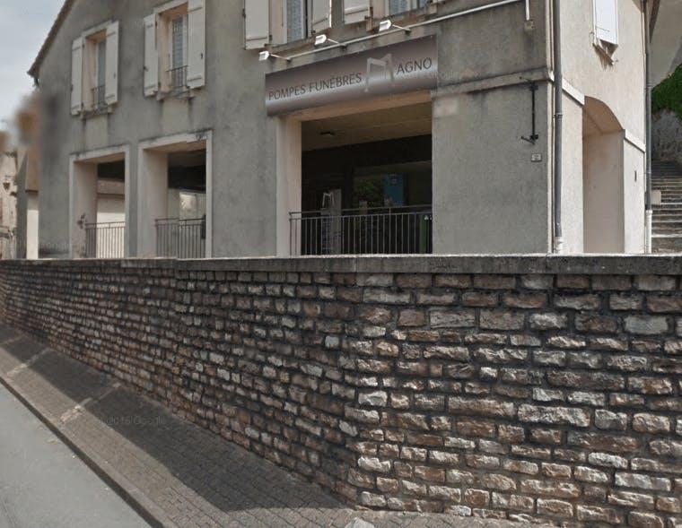 Photographie de la Pompes Funèbres Magno de la ville de Moissey