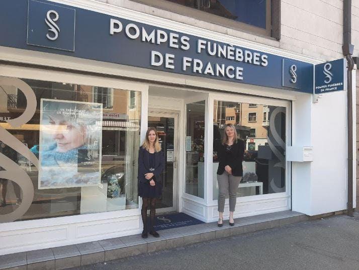 Photographie Pompes Funèbres de France Thonon-les-Bains