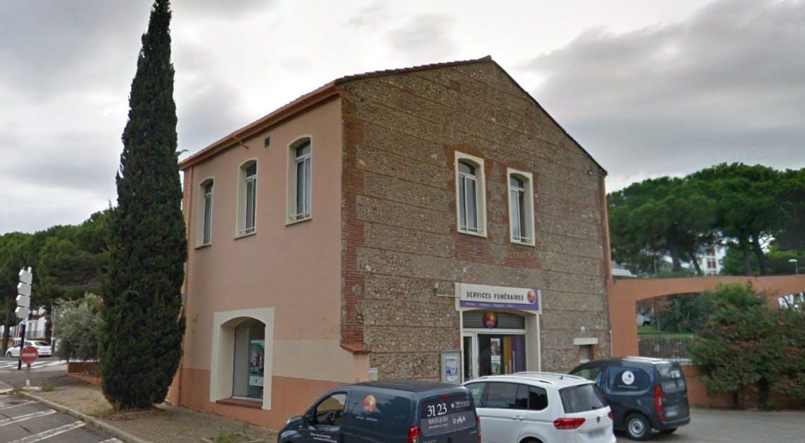 Photographie des Pompes Funèbres Genérales à Perpignan