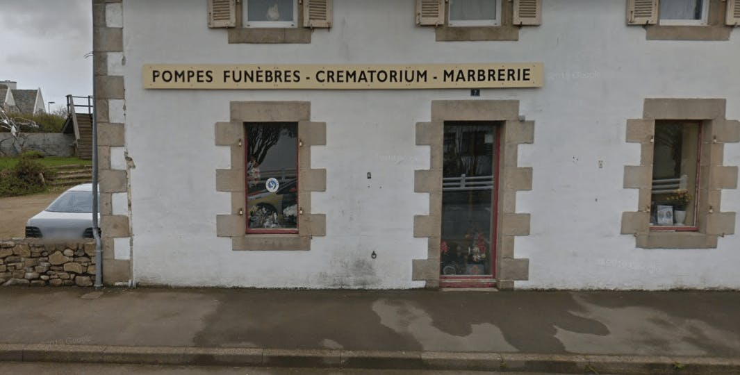 Photographie de la Pompes Funèbres Bretagne Ouest à Lanmeur