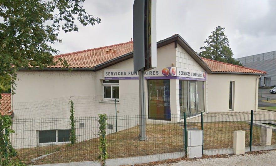 Photographie des Pompes Funèbres Genérales à Angoulême
