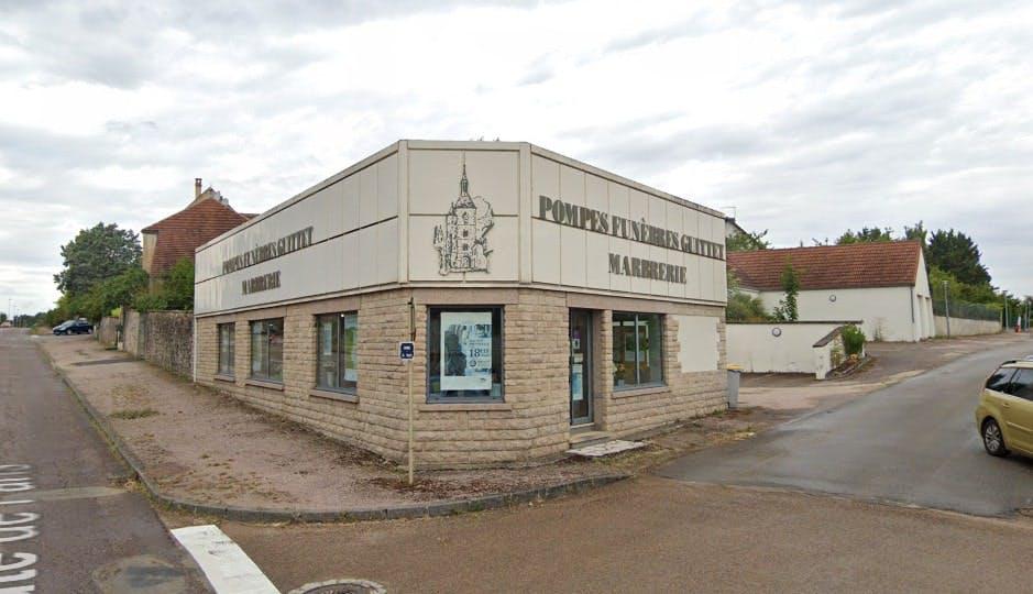 Photographies des Pompes Funèbres et Marbrerie Guittet à Avallon