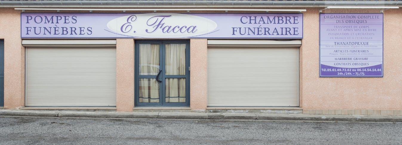 Photographie de Pompes Funèbres FACCA Eulalie de la ville du Mas-d'Azil