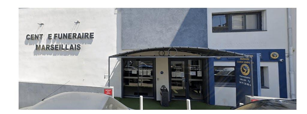Photographie de la Pompes Funèbres Marseillaises Roc-Eclerc à Marseille