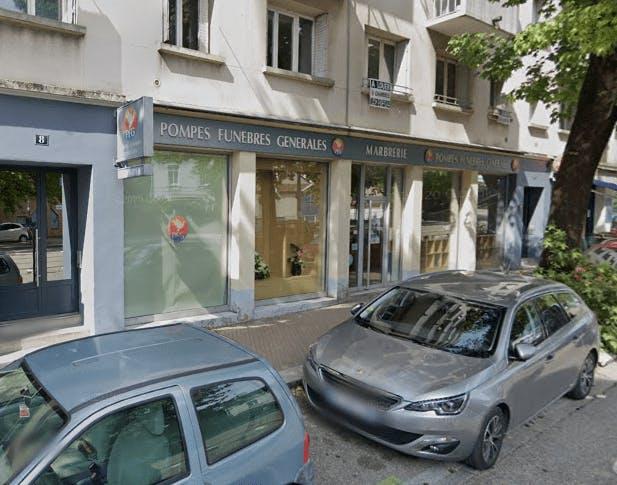 Photographie de la Pompes Funèbres Générales à Grenoble
