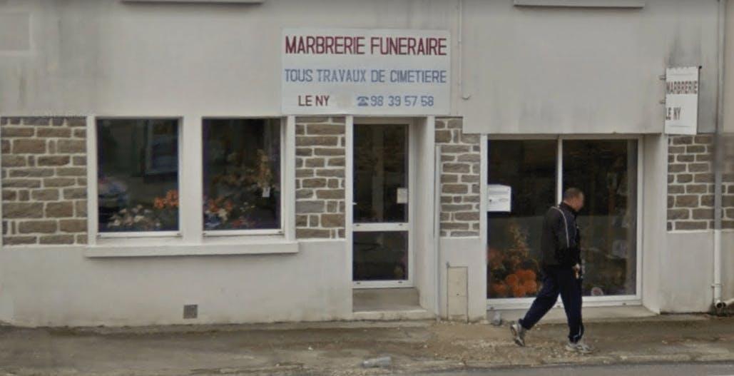 Photographie de la Marbrerie Funéraire Le Ny à Bannalec