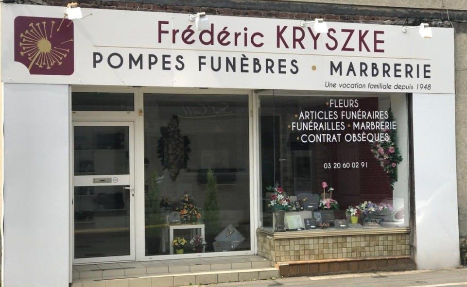 Photographies des Pompes Funèbres Kryszke à Bauvin