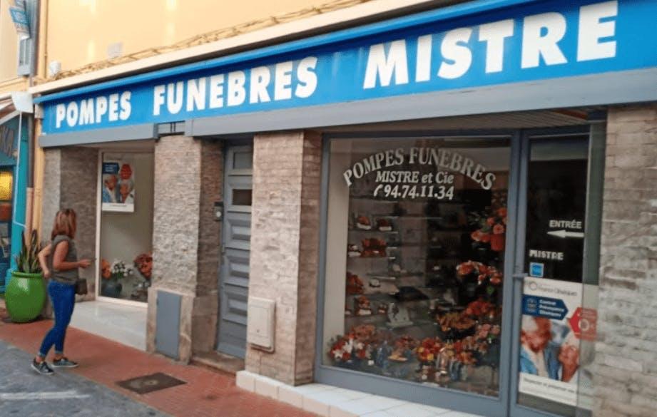 Photographie Pompes Funèbres MISTRE de Sanary-sur-Mer