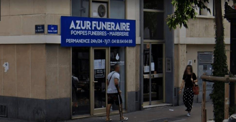 Photographie de la Pompes Funèbre 13(9 Rue Désirée Clary) à Marseille