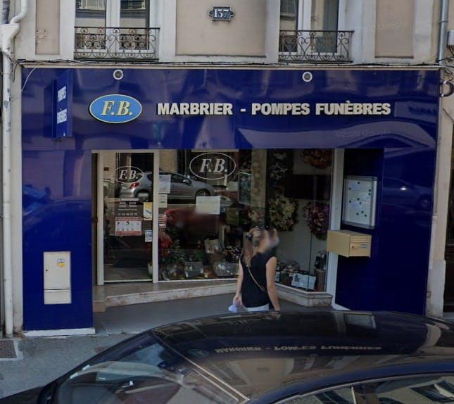 Photographies des Pompes Funèbres Marbrier FB à Fontainebleau