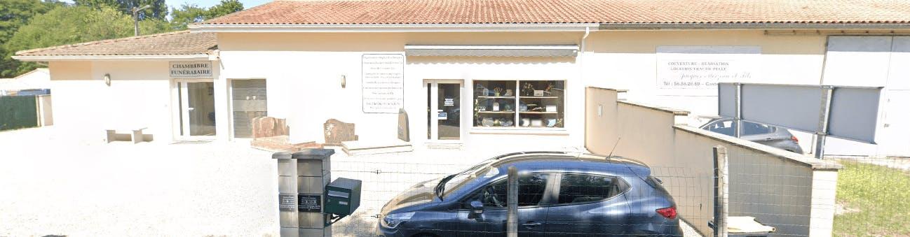 Photographie de la Pompes Funèbres Alain Robert de la ville de Castelnau-de-Médoc