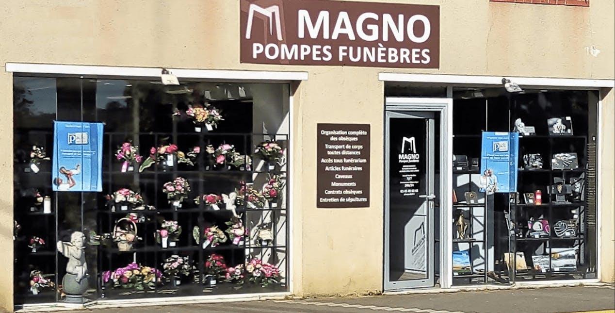 Photographie Pompes Funèbres MAGNO de Brazey-en-Plaine