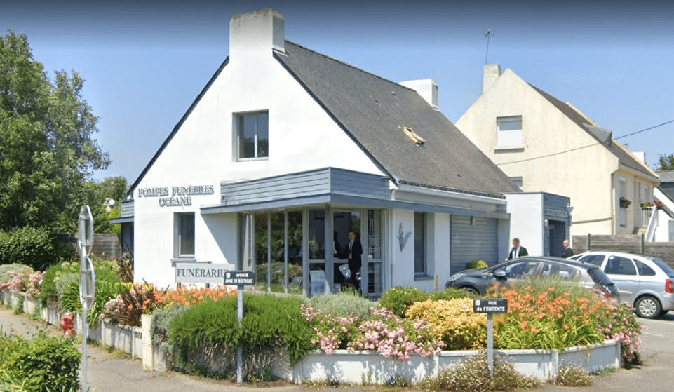 Photographie de la Pompes Funèbres Océane à Guérande