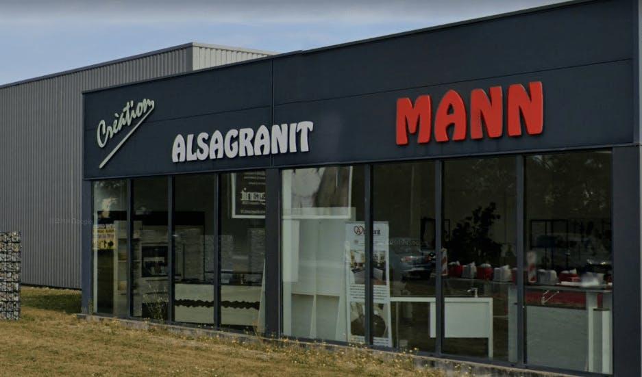 Photographie de la Marbrerie Alsagranit à Kingersheim