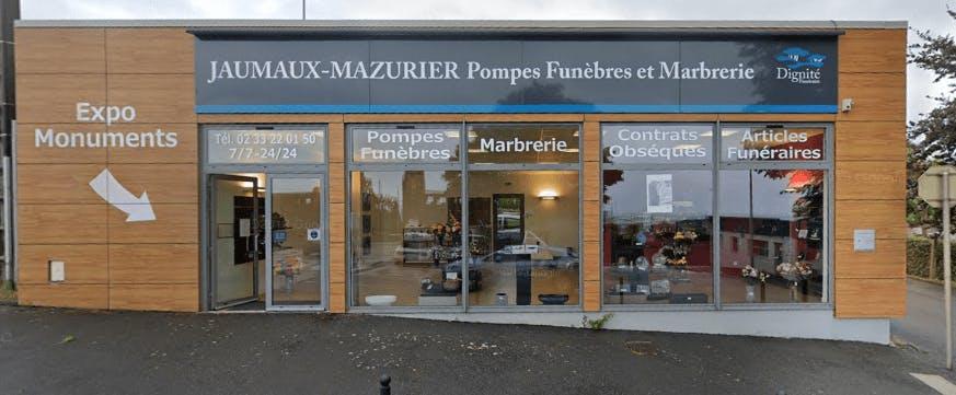 Photographie Pompes Funèbres et Marbrerie Jaumaux-Mazurier Cherbourg-Octeville
