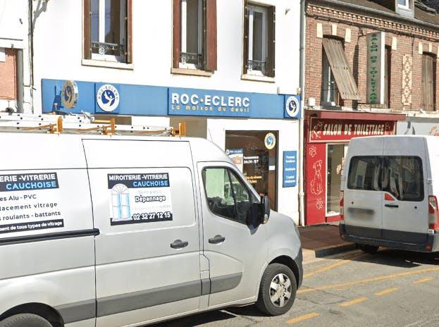 Photographie de la Pompes Funèbres ROC ECLERC à Gisors