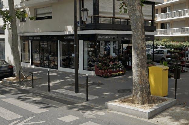 Photographie de la Pompes Funèbres Caruel à Bouguenais