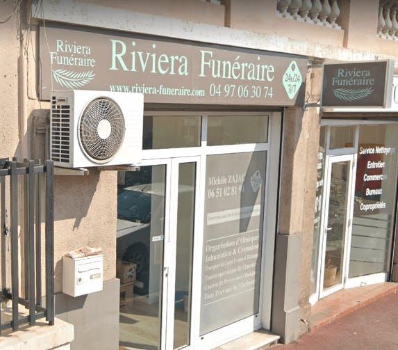 Photographie de la Riviera Funéraire à Cannes