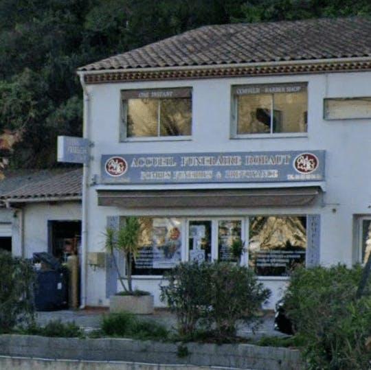 Photographie de l'Accueil Funéraire Robaut Colomars de la ville de Colomars