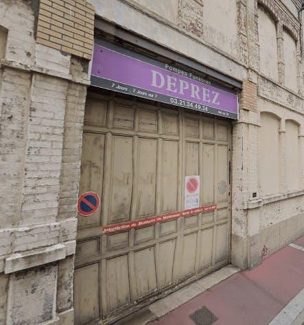 Photographie de la Pompes Funèbres Deprez à Calais