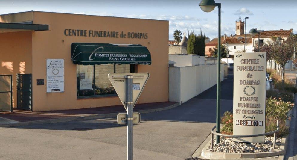 Photographie de la Pompes Funèbres Saint Georges Roc Eclerc à Bompas