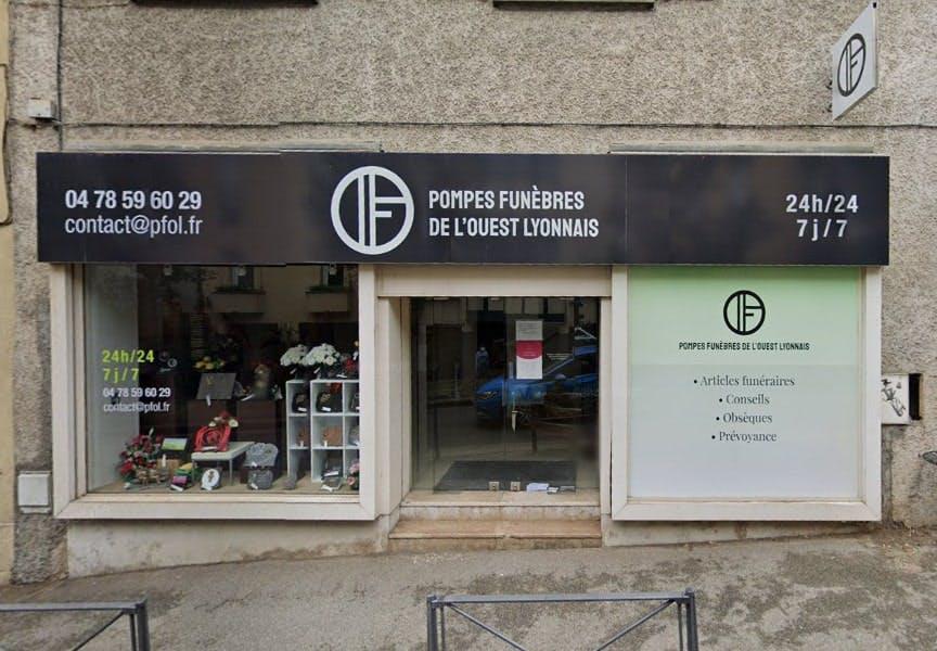 Photographies des Pompes Funèbres de l'Ouest Lyonnais à Francheville