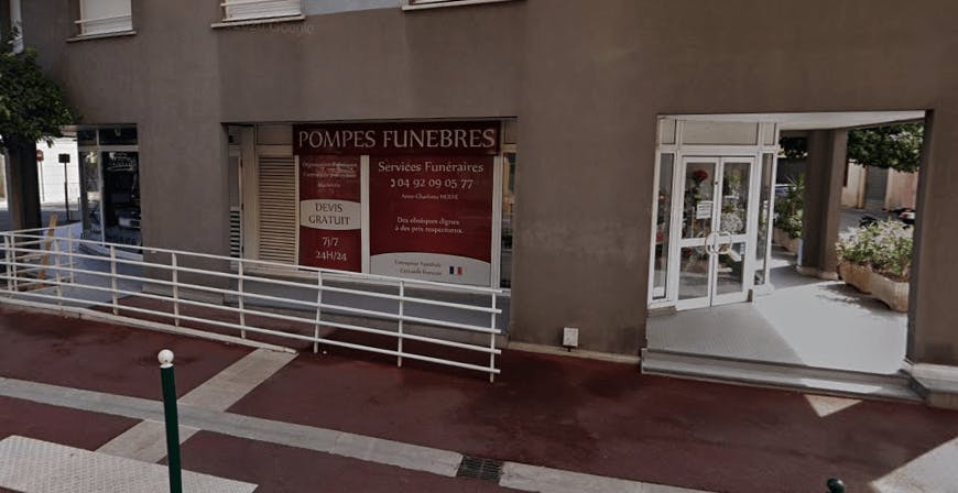 Photographie Pompes Funèbres de Roquebrune de Roquebrune-Cap-Martin