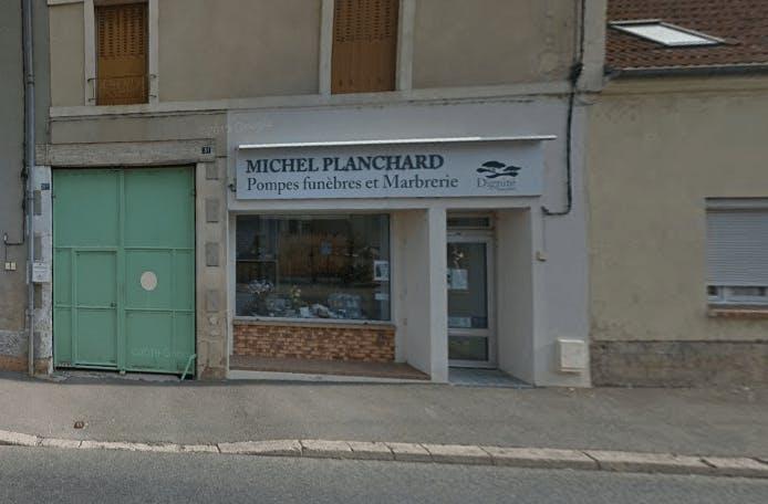 Photographie de la Pompes Funèbres et Marbrerie Planchard Nérondes