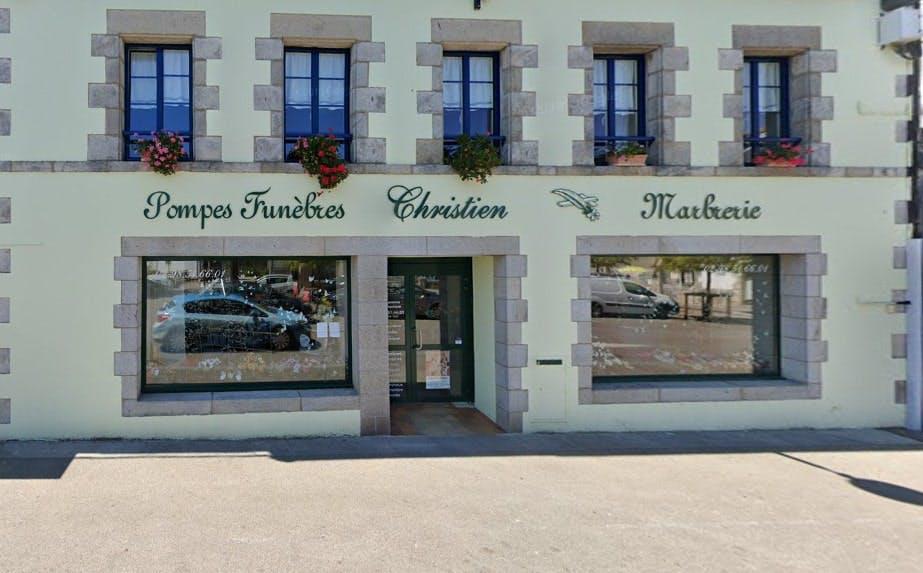 Photographies des Pompes Funèbres Marbrerie Christien à Fouesnant